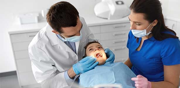 Children oral health point cook